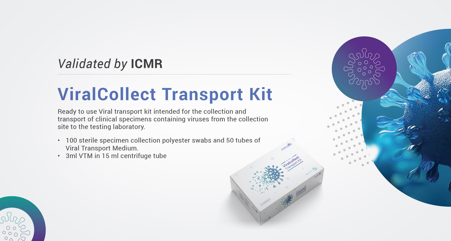viralcollect-transport-kit